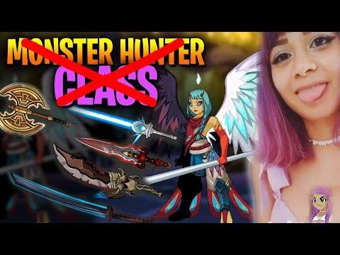 Monster Hunter Class ~  Duck Naval? Vesper AQW thumbnail