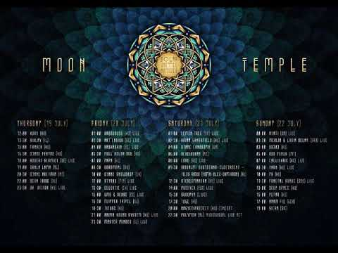 Dj Ph - SUN Festival 2018 //Moon Temple//  (psychill dj set)