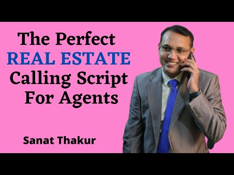 Real Estate calling script