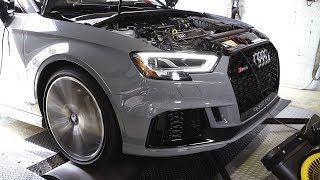 Audi RS3 Makes 500HP On Dyno // USP Motorsports + APR