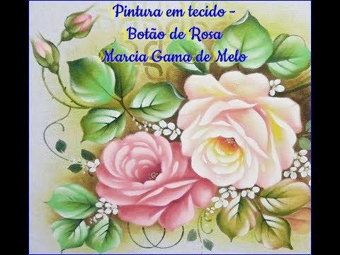 APRENDA AGORA Botão de Rosa com Marcia Gama de Mello