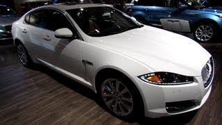 2013 Jaguar XF AWD - Exterior and Interior Walkaround - 2013 Montreal Auto Show