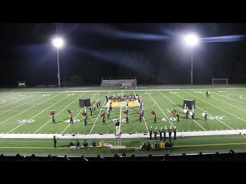 Blackhawk High School Marching Band- Competition Band Sept 14, 2018