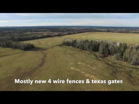 ID#1100538 - One of a kind Cow/Calf Ranch. SW of Edmonton, near Rimbey. 640 Ac, farmrealestate.com