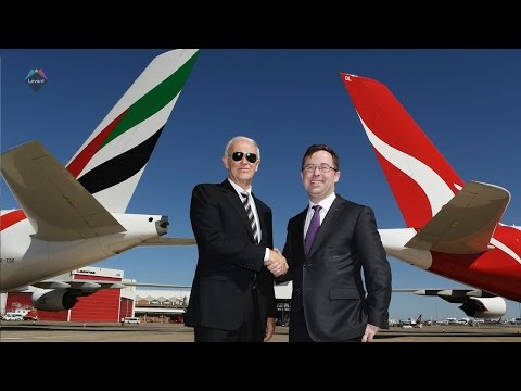 Emirates partnership with Qantas sees business increase 'six fold'