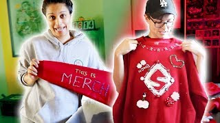 MAKING UGLY CHRISTMAS SWEATERS FOR FANS thumbnail