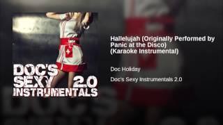 Hallelujah (Originally Performed by Panic at the Disco) (Karaoke Instrumental)