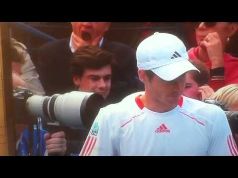 Perv at the queens tennis