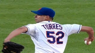 MIA@NYM: Torres strikes out eight over six strong