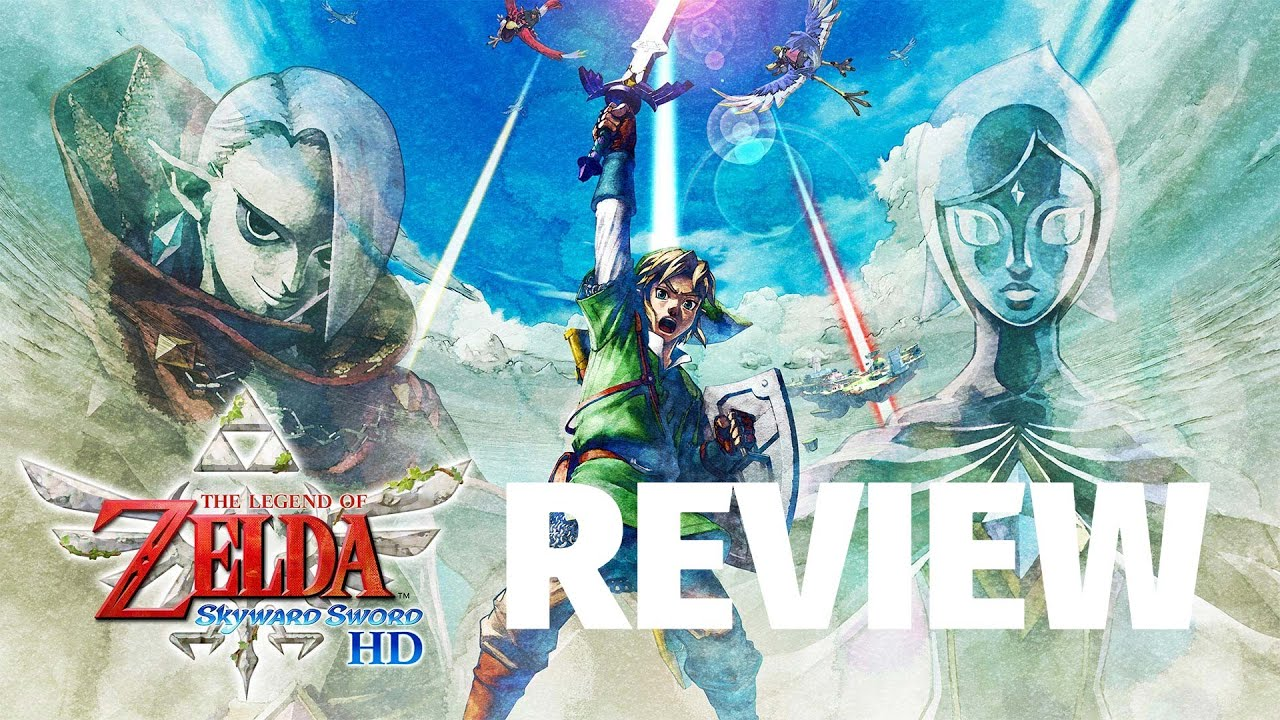 The Legend of Zelda: Skyward Sword HD Review - Sunshine On A Cloudy Day (Video Game Video Review)