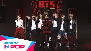 Simply K-Pop - BTS(방탄소년단) _ War of Hormone(호르몬 전쟁)