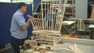 Making an ercol Evergreen chair