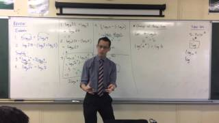 Logarithms Review: (2 of 4: Proving the Change of Base Law)