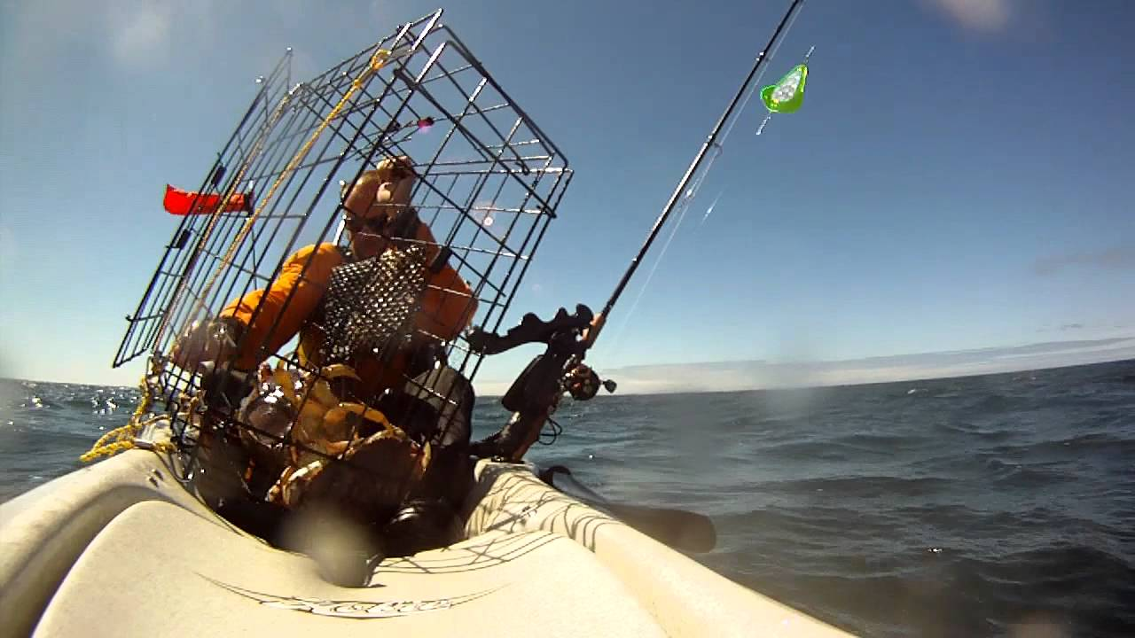 Kayak crabbing for dungeness youtube for Crab fishing oregon