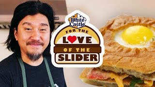 Chef Edward Lee's Toad In The Hole Slider - Louisville | For The Love Of The Slider