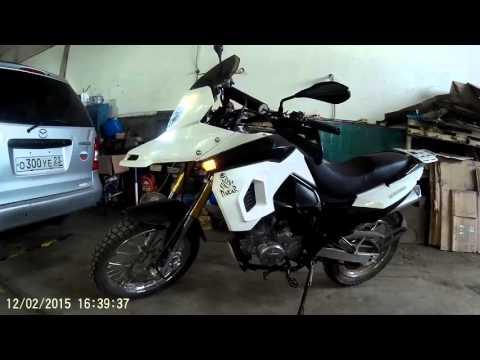 Кроссовый мотоцикл Dakar