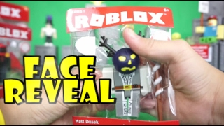 😈 ROBLOX TOYS CORE PACKS, UNBOXING MR. BLING BLING, MATT DUSEK FACE REAVEAL: TRISTAN CREATIVE