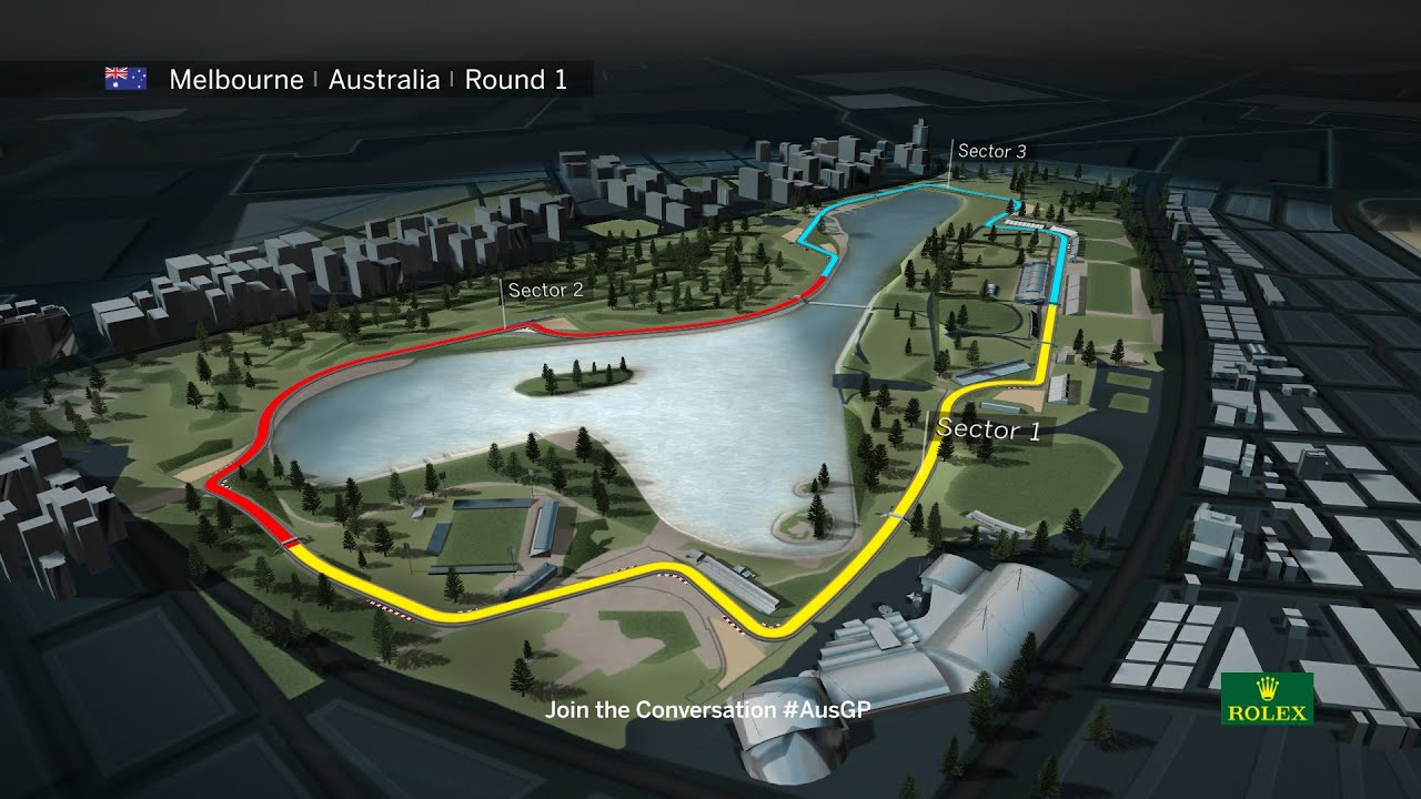 Us Grand Prix >> F1 Circuit Guide 2016 | Australian Grand Prix - YouTube