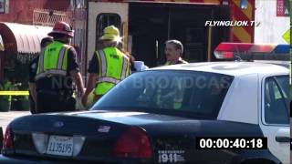 LAPD Officer Injured in Traffic Collision