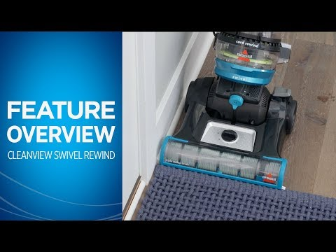 CleanView® Swivel Rewind Pet Vacuum Cleaner Overview | BISSELL