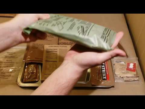 MRE Review ( Menu #5 Chicken Tomato Feta 2012 DOP) | Oldsmokey MRE Review