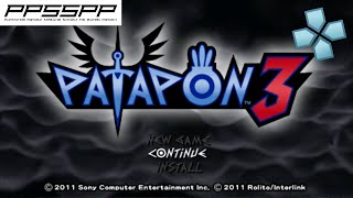 Patapon 3 - PSP Gameplay (PPSSPP) 1080p