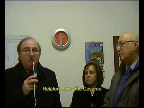 """FIDAPA Convegno Su """"Giustizia E Solidarietà"""" Relatore Avv Vito  Cesareo - Curinga 26 - 02 - 2011"""