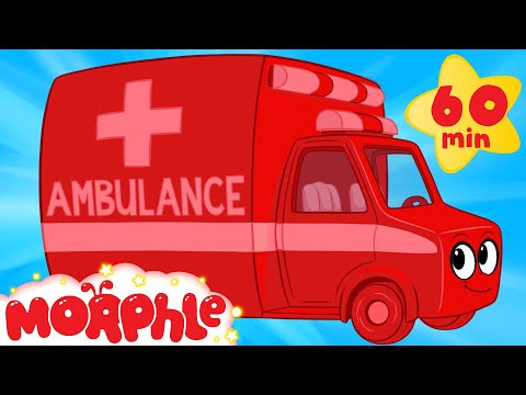 My Magic Ambulance  (+1 hour Morphle kids videos compilation
