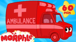 my magic ambulance 1 hour morphle kids videos compilation with cars trucks bus etc