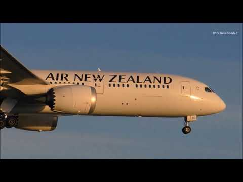 Best of 2017 Auckland Airport PlaneSpotting Part 2