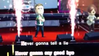 Karaoke Wii U gameplay