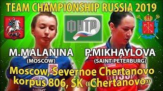 Для любителей защиты Чемпионат России 2019 Михайлова - Маланина