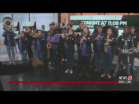 Pike High School Marching Band on Daybreak