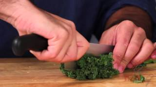How To Prepare Kale And Brussels Sprout Salad By Chef Dangoor - Tigerchef