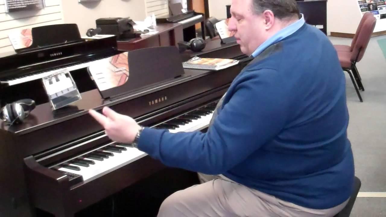 Yamaha clavinova clp 535 digital piano youtube for Yamaha digital piano clp 535