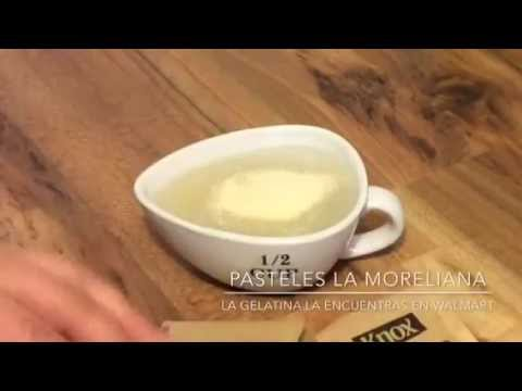 COMO HIDRATAR LA GELATINA ( o grenetina sin sabor )