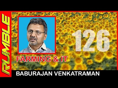 I converted an arid land to a beautiful farm - Baburajan Venkatraman