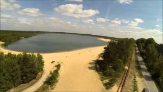 Silbersee - Badesee - Haltern am See, NRW Flug & Impressionen - DJI Phantom