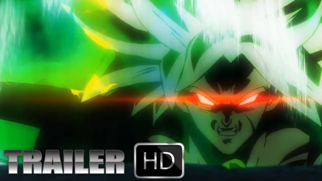 Dragon Ball Super Movie Broly Trailer English Sub Hd