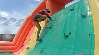 Ridiculous Balloon Water Slide at Pantai Norasingh Water Park thumbnail
