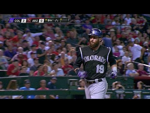 COL@ARI: Blackmon Homers Into The Pool, Extends Lead
