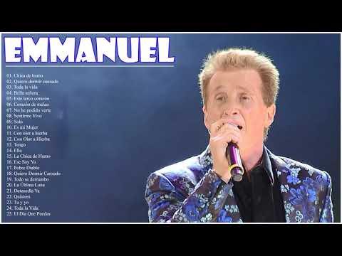 Emmanuel Sus Grandes Exitos || Las Mejores Canciones De Emmanuel