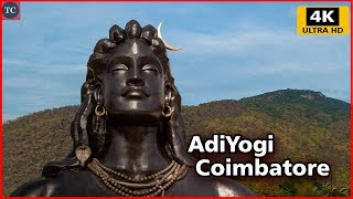 Video 112 Feet AdiYogi Shiva During Rainfall - Isha Yoga, Coimbatore, Velliangiri Foothills 4K download MP3, 3GP, MP4, WEBM, AVI, FLV Maret 2018