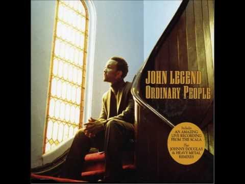 John Legend Ordinary People [Instrumental] (official track instrumental)