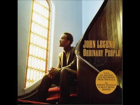 John Legend Ordinary People [Instrumental] (official track instrumental)
