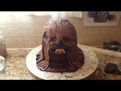 Star Wars How to make 3D Chewbacca Cake Tutorial YouTube