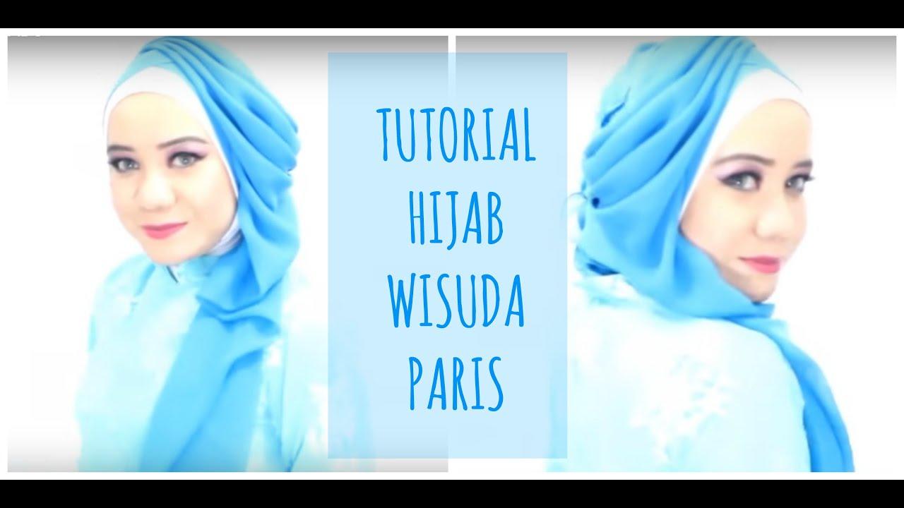 Tutorial Hijab Wisuda Segiempat 2016 Alyn Devian AD5 YouTube