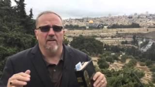 """Mt. Of Olives """"dark Clouds Of War"""" Over Jerusalem"""