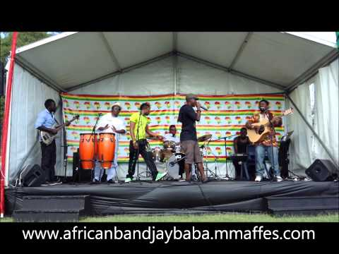 JAY BABA African Music Band @ Africulture Festival 2013 Sydney Australia