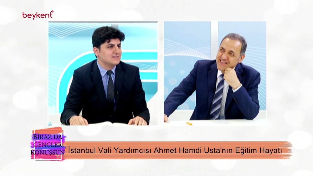 BİRAZ DA GENÇLER KONUŞSUN / Ahmet Hamdi USTA